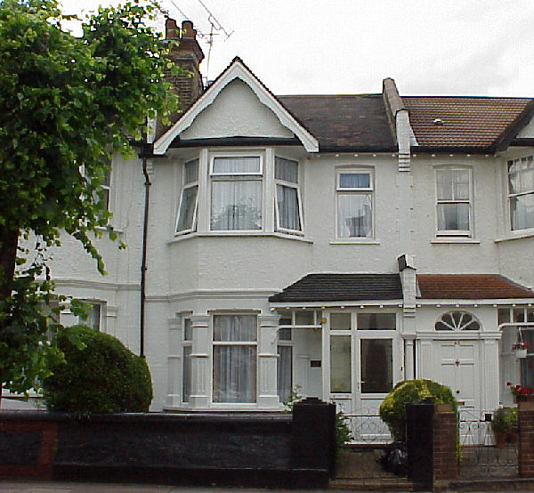 Stuart's South Tottenham home in London