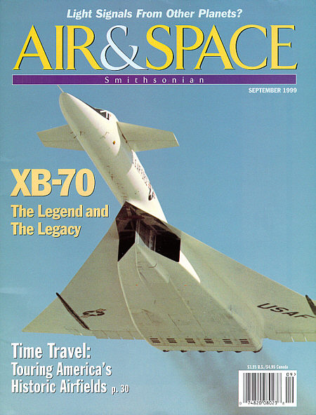 Smithsonian Air and Space Magazine Cover, September 1999