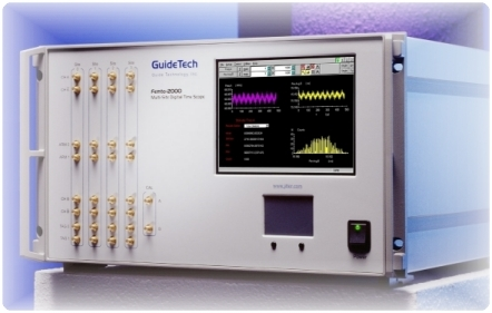 GuideTech's Femto-2000 Multi-Site Digital Time Scope (illustrative of their products only)
