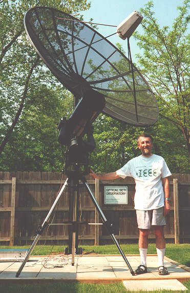The first Visible Optical SETI Observatory in North America